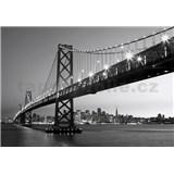 Vliesové fototapety San Francisco Skyline, rozmer 366 x 254 cm