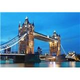 Vliesové fototapety Tower Bridge, rozmer 366 x 254 cm