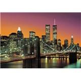 Vliesové fototapety New York City, rozmer 366 x 254 cm
