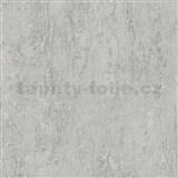 Vliesové tapety IMPOL Wood and Stone 2 betón sivý so štruktúrou