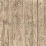 Vliesové tapety IMPOL Wood and Stone 2 drevo hrubo hobľované hnedé