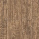 Vliesové tapety IMPOL Wood and Stone 2 drevo hrubo hobľované tmavo hnedé