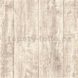 Vliesové tapety IMPOL Wood and Stone 2 drevo hrubo hobľované svetlo hnedé