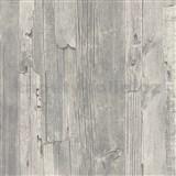 Vliesové tapety IMPOL Wood and Stone 2 drevo vintage sivé
