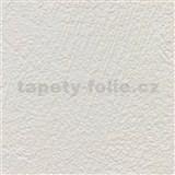 Vliesové tapety na stenu XXL štruktúrovaná omietkovina krémová MEGA ROLL návin 15m