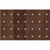 Samolepiace tapety drevo jelša tmavé s aplikáciou - renovácia dverí - 90 cm x 210 cm