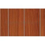 Samolepiace tapety teakové drevo - renovácia dverí - 90 cm x 210 cm