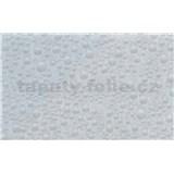 Samolepiace tapety - transparentné kvapky vody 45 cm x 15 m