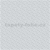 Vliesové tapety na stenu Allure ornamenty malé sivo-strieborné