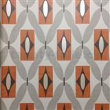 Papierové tapety na stenu Options Quartz oranžové