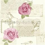 Papierové tapety na stenu Options ruže ružové