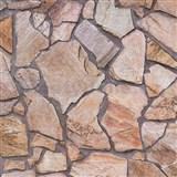 Vliesové tapety na stenu Wood'n Stone kameň štiepaný farebný