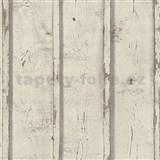 Vliesové tapety na stenu Wood'n Stone dosky drevené hnedé