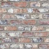 Vliesové tapety na stenu Exposed Warehouse tehla farebná