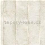 Vliesové tapety na stenu Avalon omietkovina v pruhoch svetlo hnedá