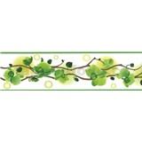 Samolepiace bordúry orchidea zelená 5 m x 8,3 cm