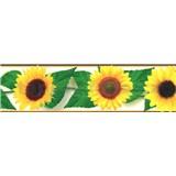 Samolepiaca bordúra slnečnica 5 m x 8,3 cm