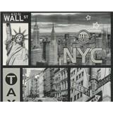 Vinylové tapety na stenu Boys & Girls New York taxi
