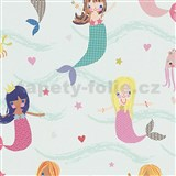 Papierové tapety na stenu Boys & Girls morské panny