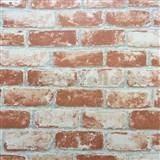 Vliesové tapety na stenu Bread & Butter tehla červená