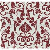 Vliesové tapety na stenu Caprice zámocký ornament červený