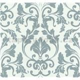 Vliesové tapety na stenu Caprice zámocký ornament modrý