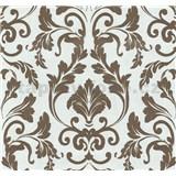 Vliesové tapety na stenu Caprice zámocký ornament hnedý