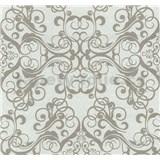 Vliesové tapety na stenu Caprice ornament svetlo hnedý
