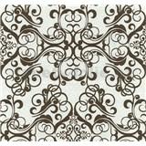 Vliesové tapety na stenu Caprice ornament hnedý
