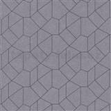 Vliesové tapety IMPOL Carat 2 geometrický vzor zlatý s čiernymi kontúrami