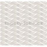 Dekoratívny obklad na stenu Ceramics Wave sivý šírka 67,5 cm x 20 m