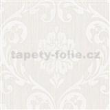 Vliesové tapety na stenu Classico zámocký vzor smotanový