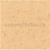 Tapety vliesové - štruktúrovaná omietkovina oranžová