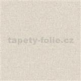 Vliesové tapety na stenu IMPOL Collection textilná štruktúra svetlo hnedá