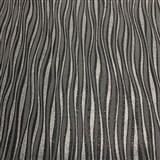 Vliesové tapety na stenu Collection 2 zvislé  strieborné, čierne a sivé prúžky