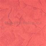 Vliesové tapety na stenu stierkovaná omietka červená