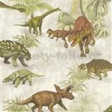 Detské papierové  tapety na stenu IMPOL Collection dinosauri