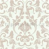 Vliesové tapety na stenu Caprice ornament hnedý - PROFI ROLL - dve rolky v jednej - POSLEDNÝ KUS