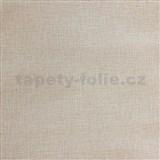Vliesové tapety IMPOL textilná štruktúra hnedo-sivá