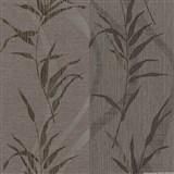 Vliesové tapety na stenu Sinfonia - bambusové listy hnedé