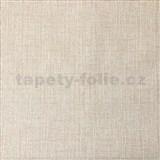 Vliesové tapety na stenu textilný vzor hnedý s trblietkami
