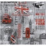 Papierové tapety na stenu Collection Londýn