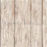 Luxusné vliesové tapety na stenu IMPOL TRADE Attitude drevené dosky hnedé