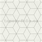 Vliesové tapety na stenu IMPOL Collection škandinávsky design biely