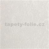 Vliesové tapety na stenu IMPOL Collection štruktúra biela so zlatavým metalickým odleskom