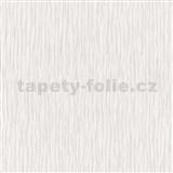 Vliesové tapety na stenu Como - štruktúrované vlnovky fialovo-biele