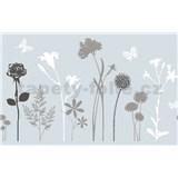 Statická fólia transparentná Blossom - 45 cm x 15 m