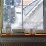 Statická bordúra transparentná winter - 20 cm x 1,5 m (cena za kus)