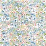 Samolepiace tapety d-c-fix - lúčne kvety 45 cm x 15 m