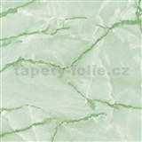 Samolepiace tapety d-c-fix - mramor aquarell zelená 45 cm x 15 m
